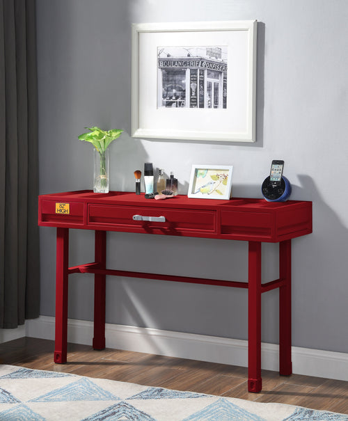 Cargo Red Vanity Desk image