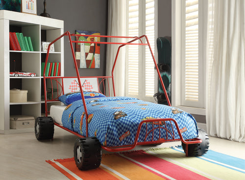Xander Red Go Kart Twin Bed image