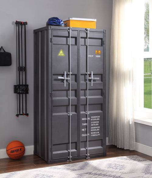 Cargo Gunmetal Wardrobe (Double Door) image