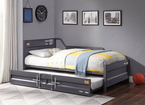 Cargo Gunmetal Daybed & Trundle (Twin Size) image