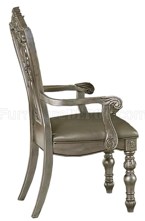 Homelegance Catalonia Arm Chair in Platinum Gold (Set of 2) image