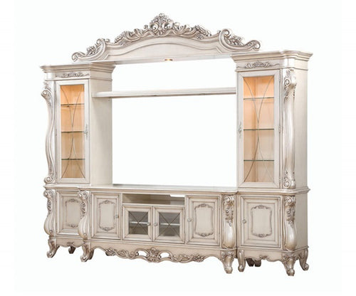Acme Furniture Gorsedd Entertainment Center in Antique White 91440 image