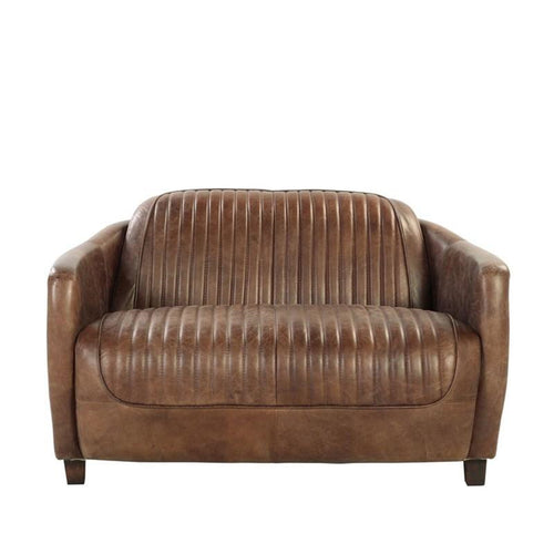 Acme Furniture Brancaster Loveseat in Retro Brown 53546 image