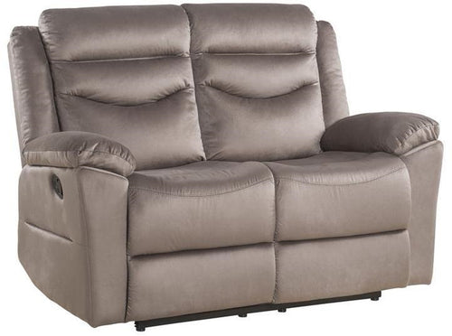 Acme Furniture Fiacre Motion Loveseat in Brown 53666 image
