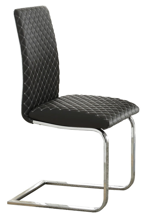 Homelegance Yannis Side Chair in Chrome Metal  (Set of 2) image