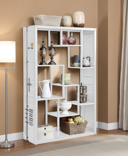 Cargo White Shelf Rack / Book Shelf image