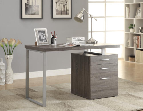 G800520 Contemporary Weathered Grey Writing Desk image