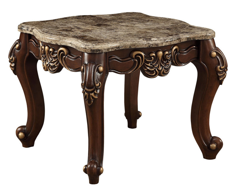 Acme Furniture Mehadi End Table in Walnut 81697 image