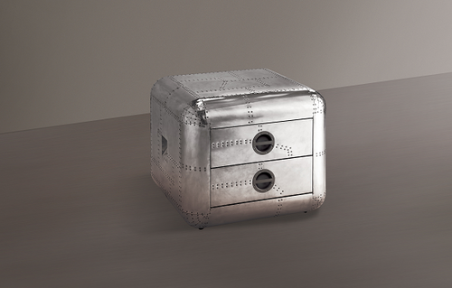 Brancaster Aluminum End Table image