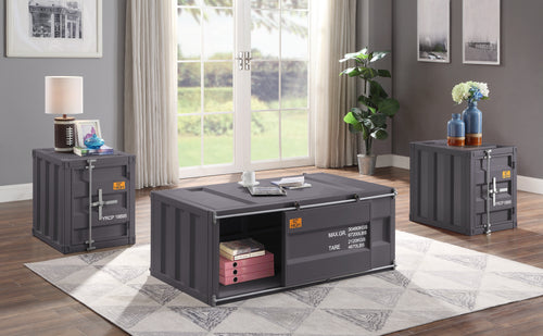 Cargo Gunmetal Coffee Table image