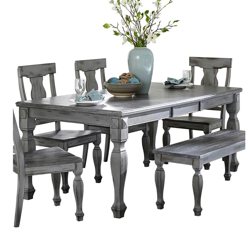 Homelegance Fulbright Dining Table in Gray 5520-78 image