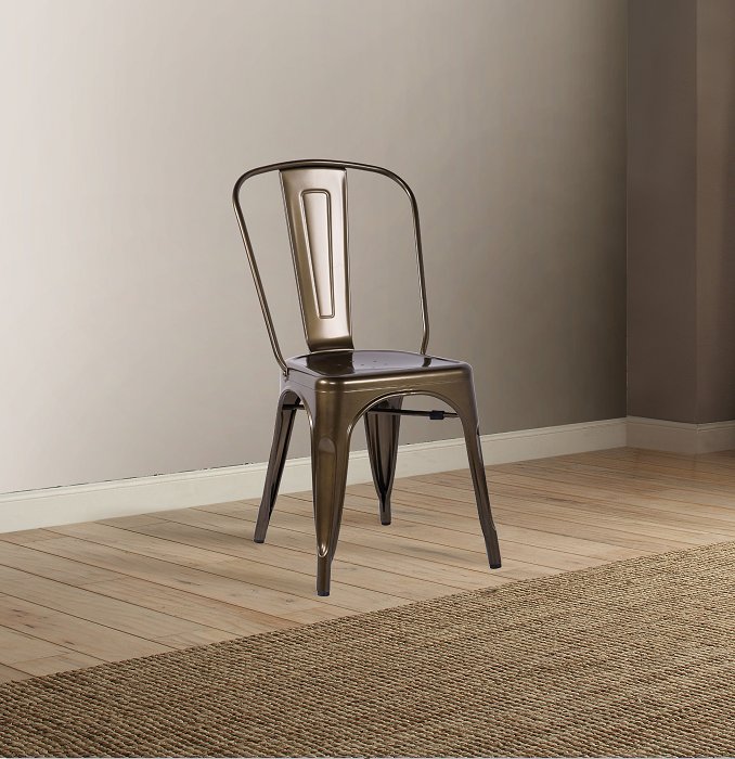 Jakia Bronze Side Chair image