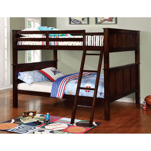 GRACIE Dark Walnut Full/Full Bunk Bed image