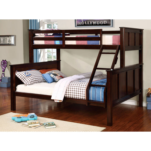 GRACIE Dark Walnut Twin/Queen Bunk Bed image