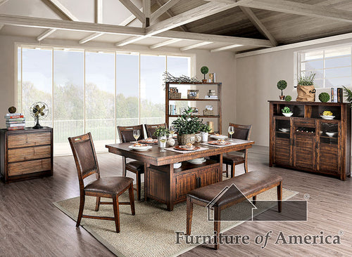 Wichita Light Walnut 6 Pc. Dining Table Set image