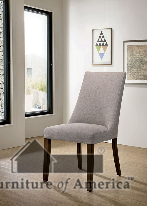 Woodworth Walnut Padded Side Chair (2/CTN) image