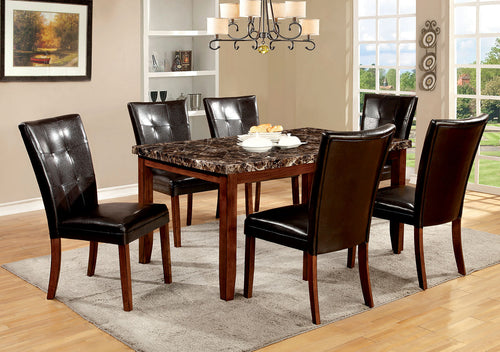 ELMORE Antique Oak 7 Pc. Dining Table Set image