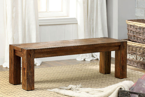 FRONTIER Dark Oak Bench image