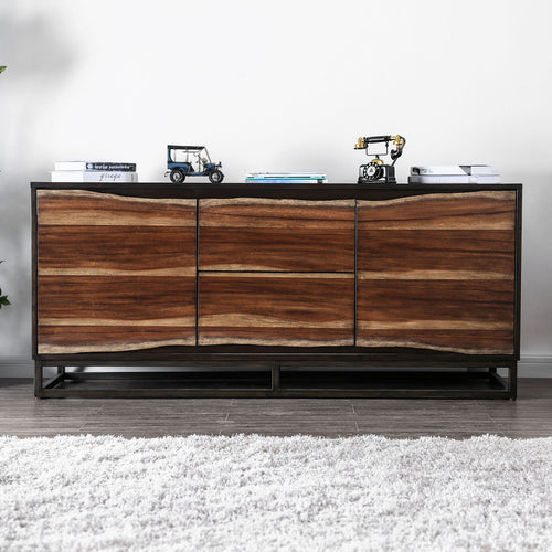 "Fulton Dark Oak 64"" Media Chest image"