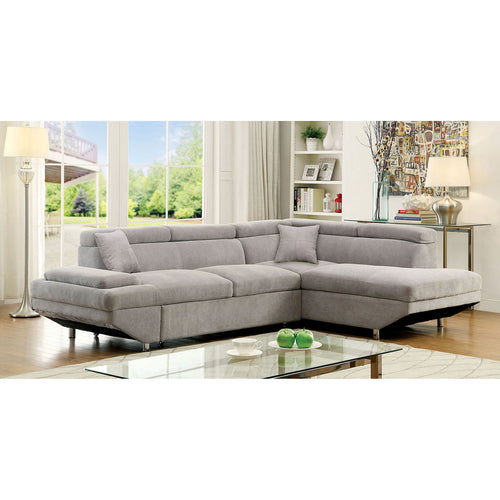 Foreman Gray Sectional, Gray image