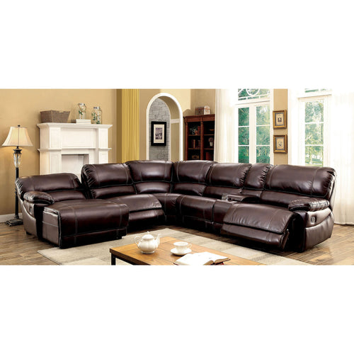ESTRELLA Brown Sectional, Brown image