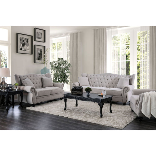 Ewloe Gray Sofa + Love Seat image
