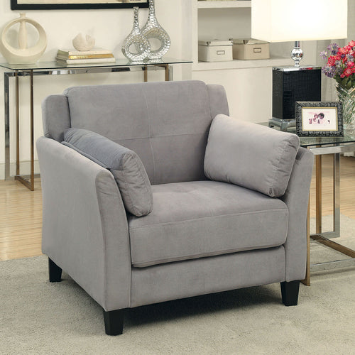 YSABEL Warm Gray Chair, Warm Gray (K/D) image