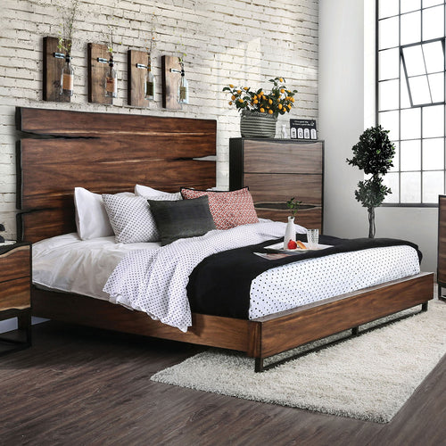 Fulton Dark Oak/Dark Walnut Cal.King Bed image