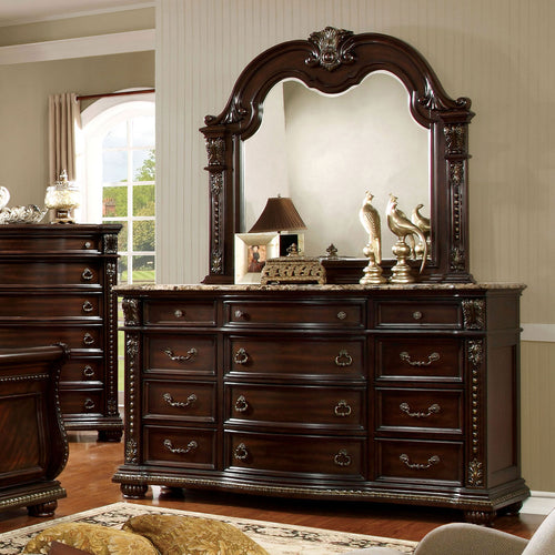 Fromberg Brown Cherry Dresser image