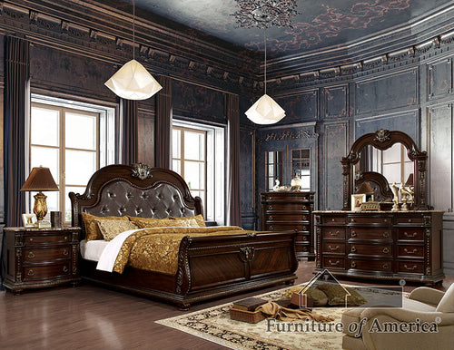 Fromberg Brown Cherry Cal.King Bed image