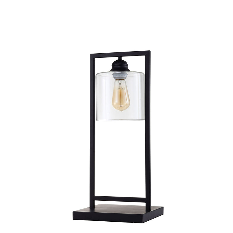 "Zoe Black 6""H Table Lamp image"