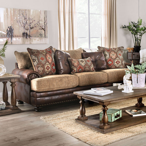 Fletcher Brown/Tan Sofa image