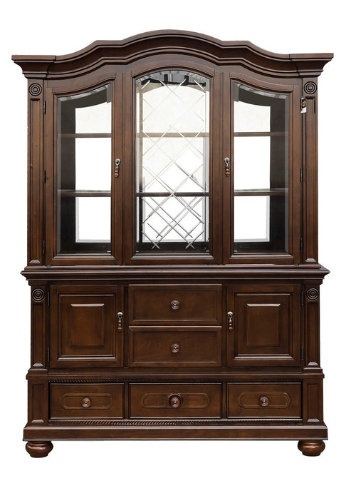Homelegance Lordsburg Buffet and Hutch in Brown Cherry 5473-50* image