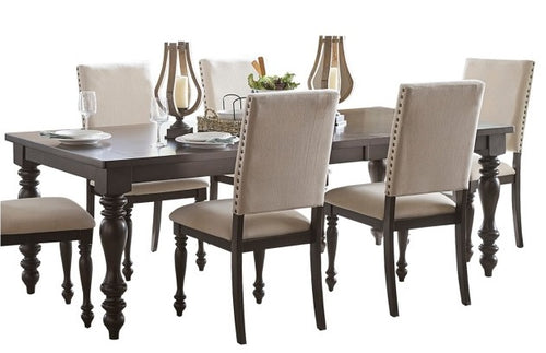 Homelegance Begonia Dining Table in Gray 1718GY-90 image