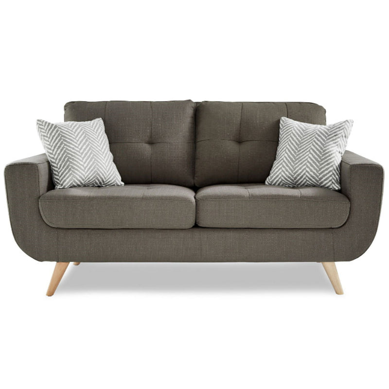 Homelegance Furniture Deryn Loveseat in Gray 8327GY-2 image