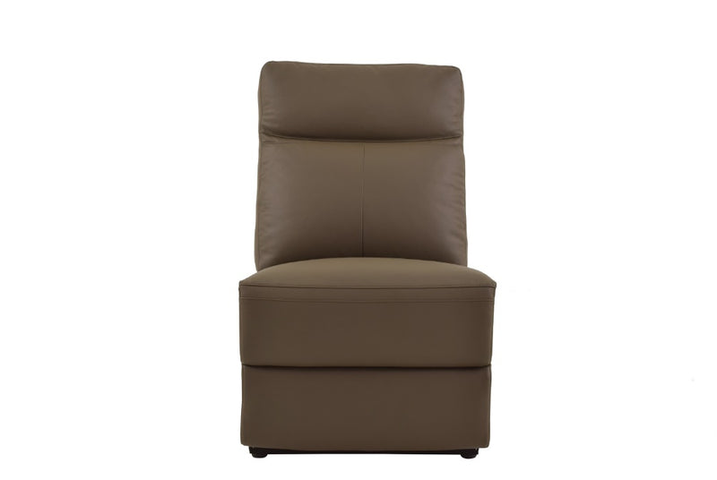 Homelegance Furniture Olympia Power Armless Reclining Chair 8308-ARPW image