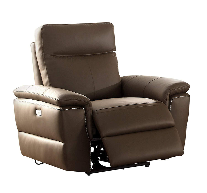 Homelegance Furniture Olympia Power Double Reclining Chair 8308-1PW image