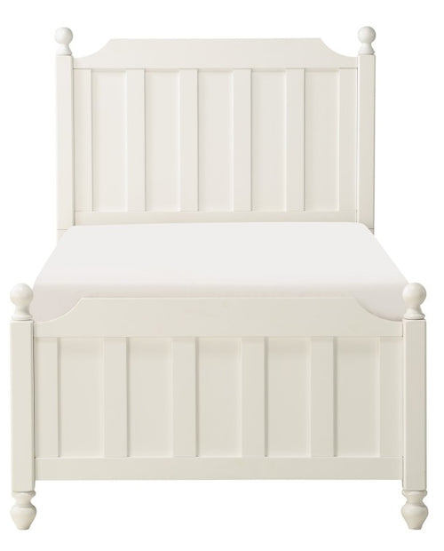 Homelegance Wellsummer Twin Panel Bed in White 1803WT-1* image