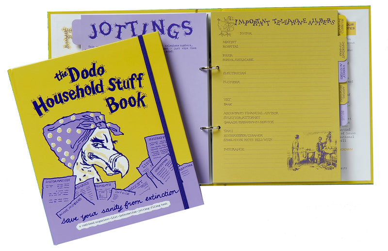 The Dodo Household Stuff Book