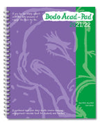 2021/22 Acad-Pad Desk Diary, with free stickers worth £3.95*