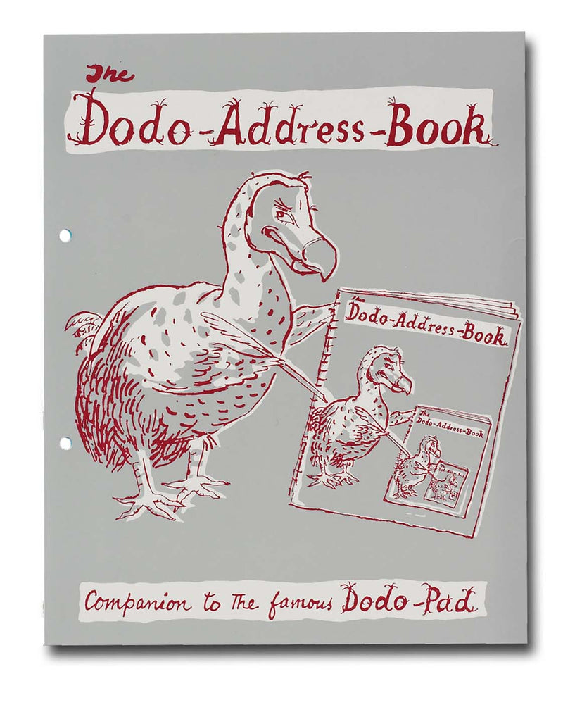 The Dodo Address Book (Loose-Leaf)
