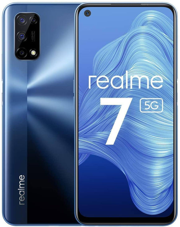 Realme 7 5G Dimensity 800U 6GB 128GB 120Hz Display 48MP 5000mAh 30W Fast Charging