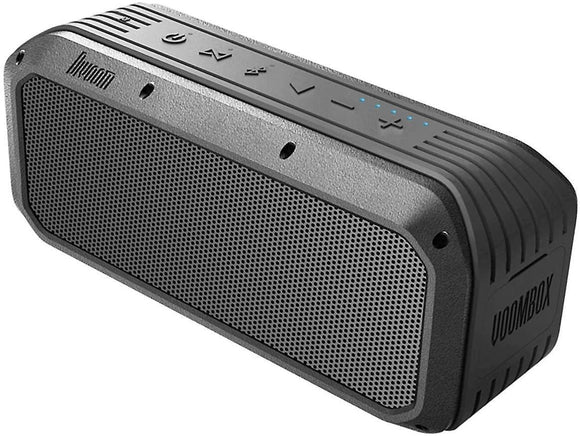 Divoom Voombox Power I tragbarer Bluetooth Lautsprecher I IPX5 wasserdicht I 6000mAh Akku I 30 W Bluetooth Speaker - Electro2GO