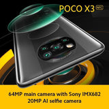 POCO X3 NFC Snapdragon 732G 120Hz Display 5160mAh 33W Schnellladung 64MP Quad Kamera