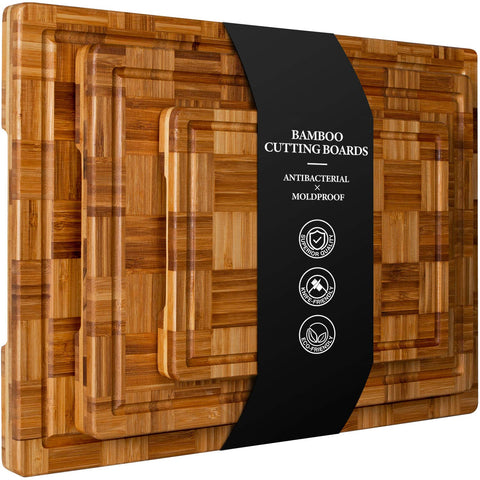 Buy the Extra Large Bamboo Cutting Board - Kitchen Tribe Marketplace