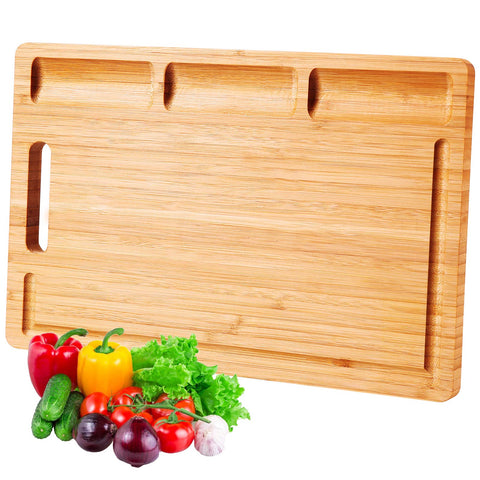 Buy the Large Bamboo Cutting Board - Kitchen Tribe Marketplace