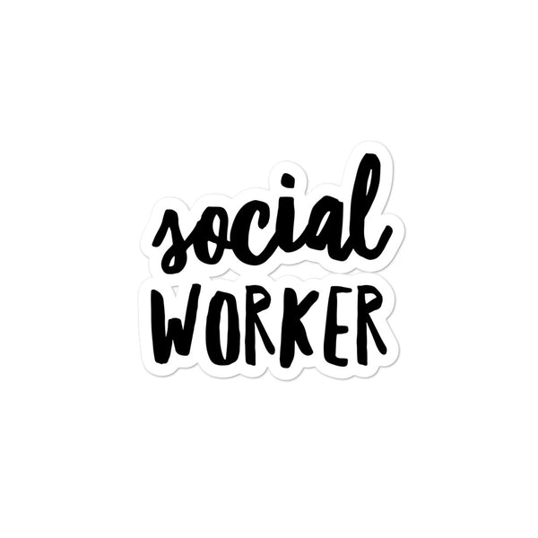 Social Worker sticker