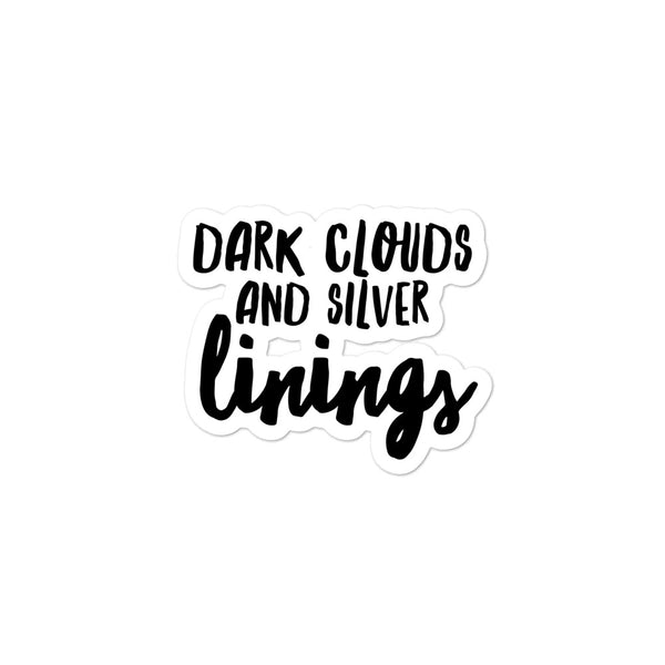 Silver Linings Sticker