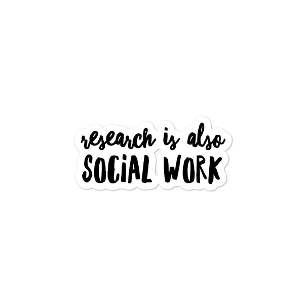 Research is Social Work