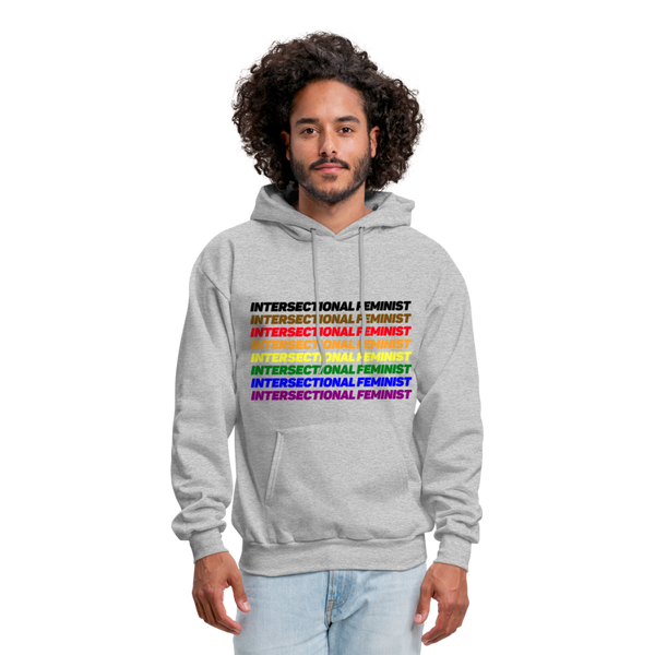 Intersectional Feminist Hoodie - heather gray